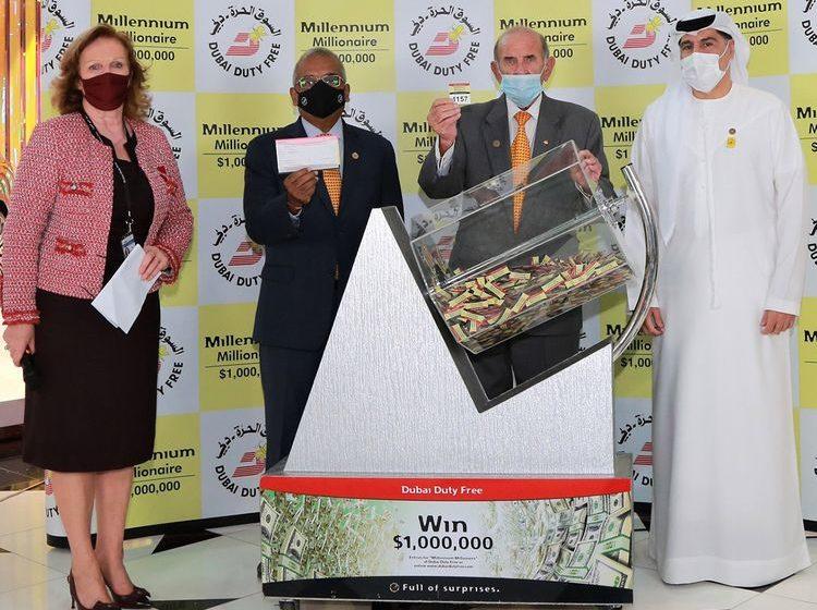 Il gagne 1 million de dollars au tirage du Duty Free de Dubaï