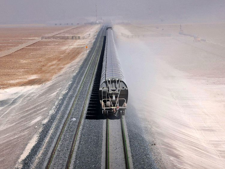 train emirats arabes unis